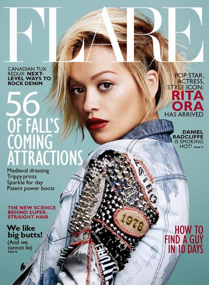Rita ora Flare Magazine