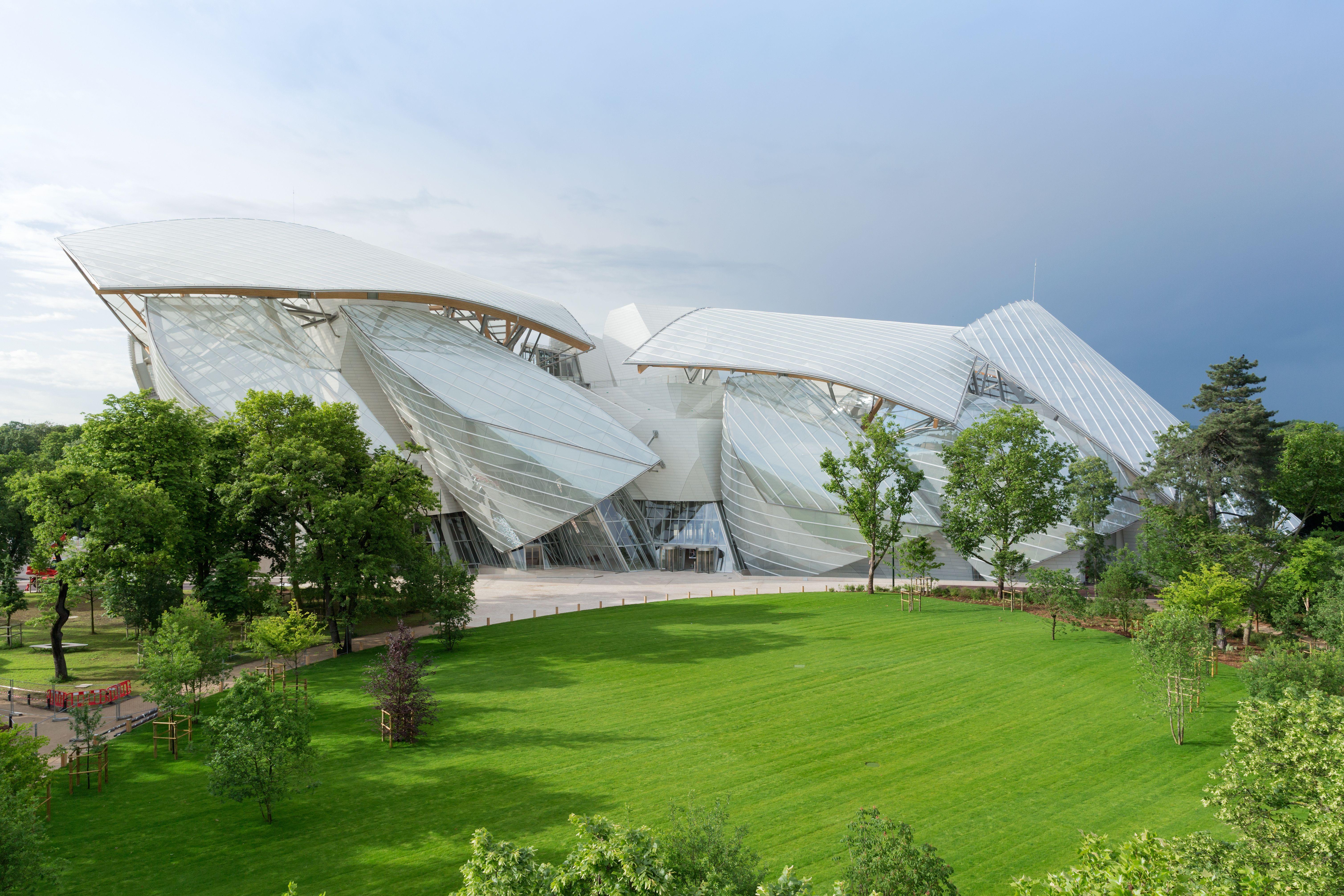 2. The Fondation Louis Vuitton © Iwan Baan