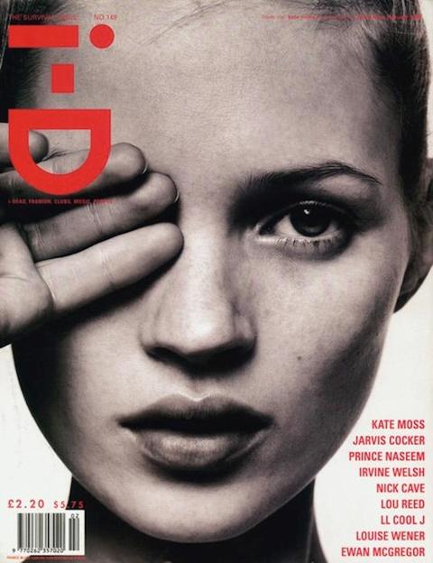 Kate Moss na titulní straně i-D