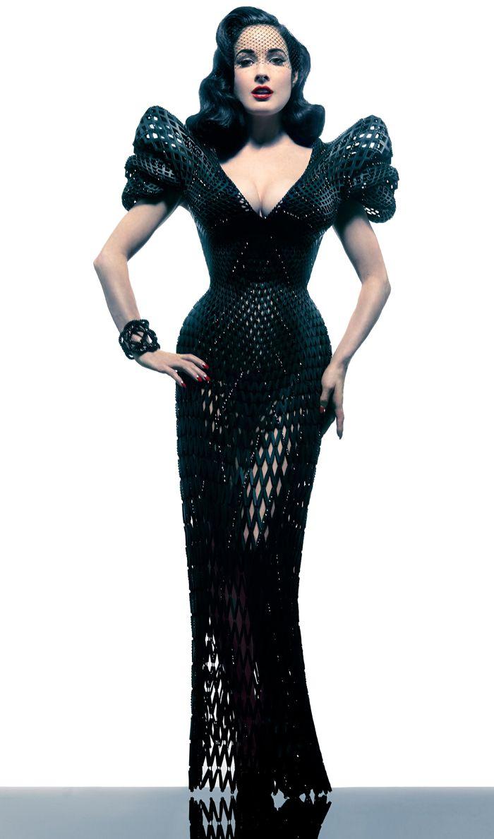 Michael Schmidt 3D kloubové šaty
