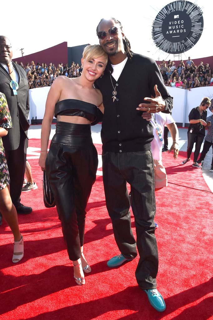Miley Cyrus a Snoop Dogg