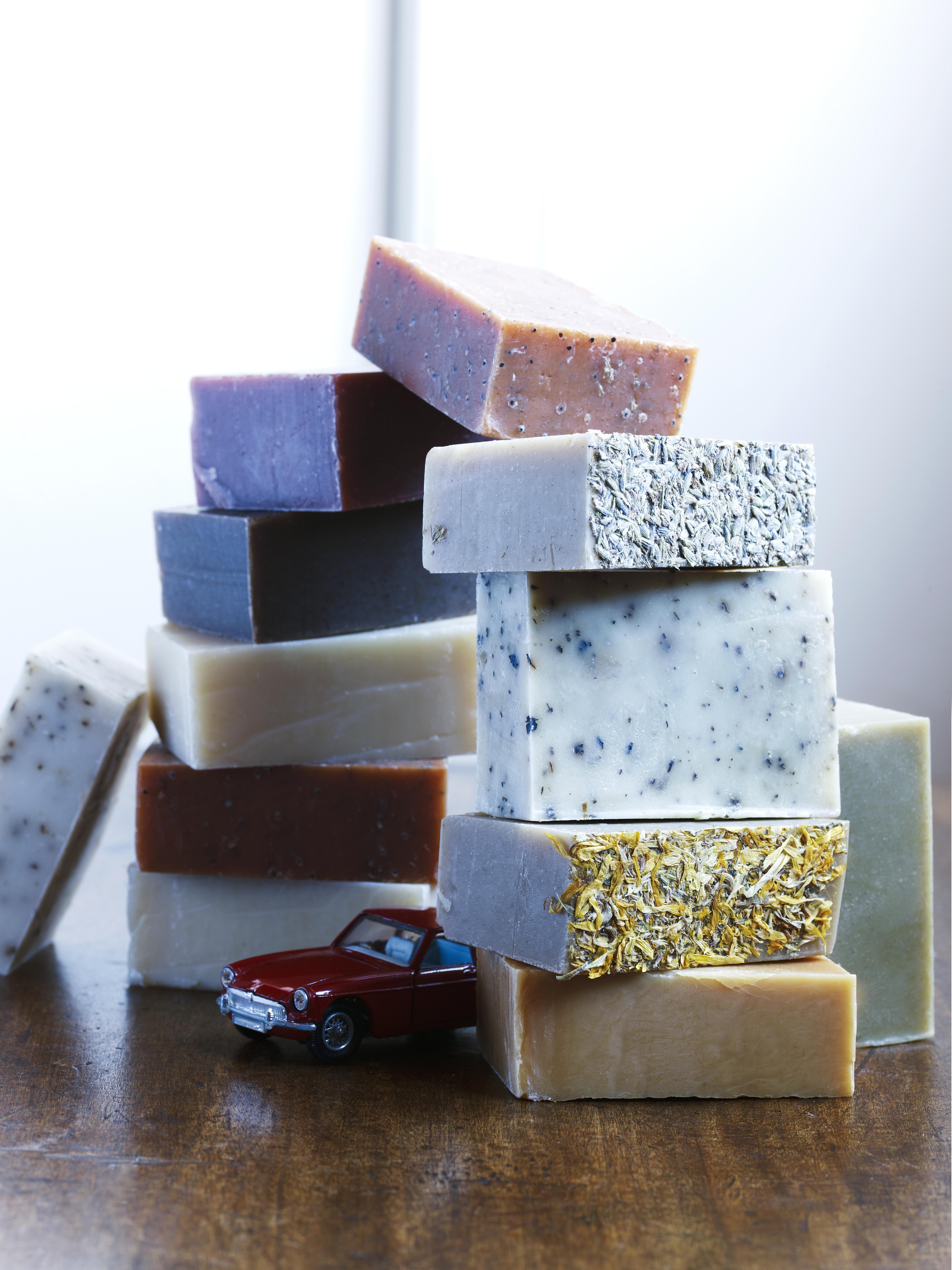 Soap Stack & Car