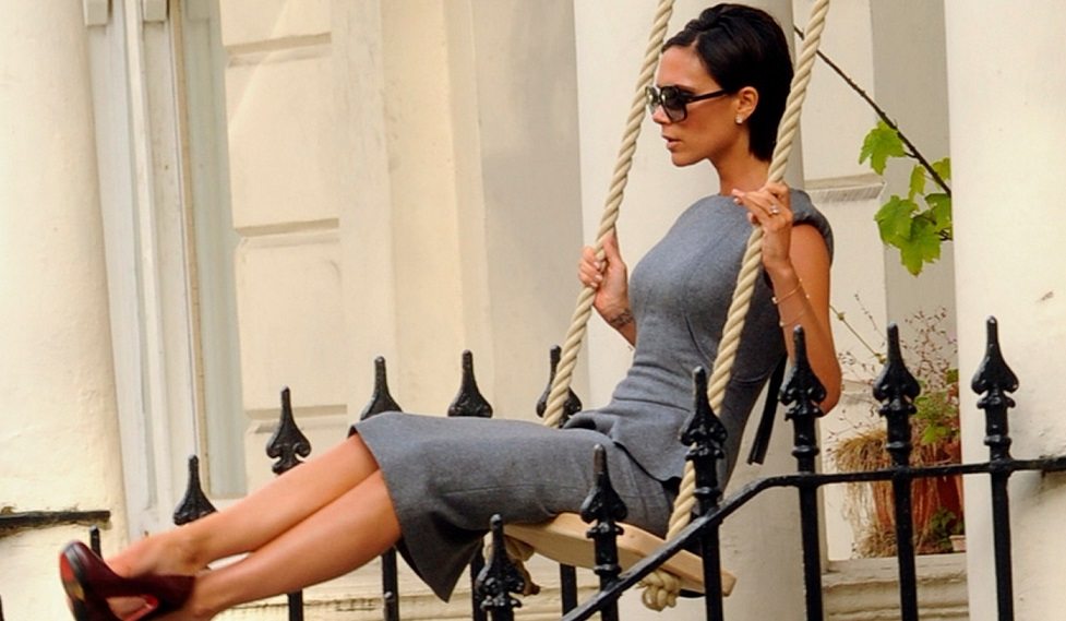 Victoria Beckham seen out in central London, UK
