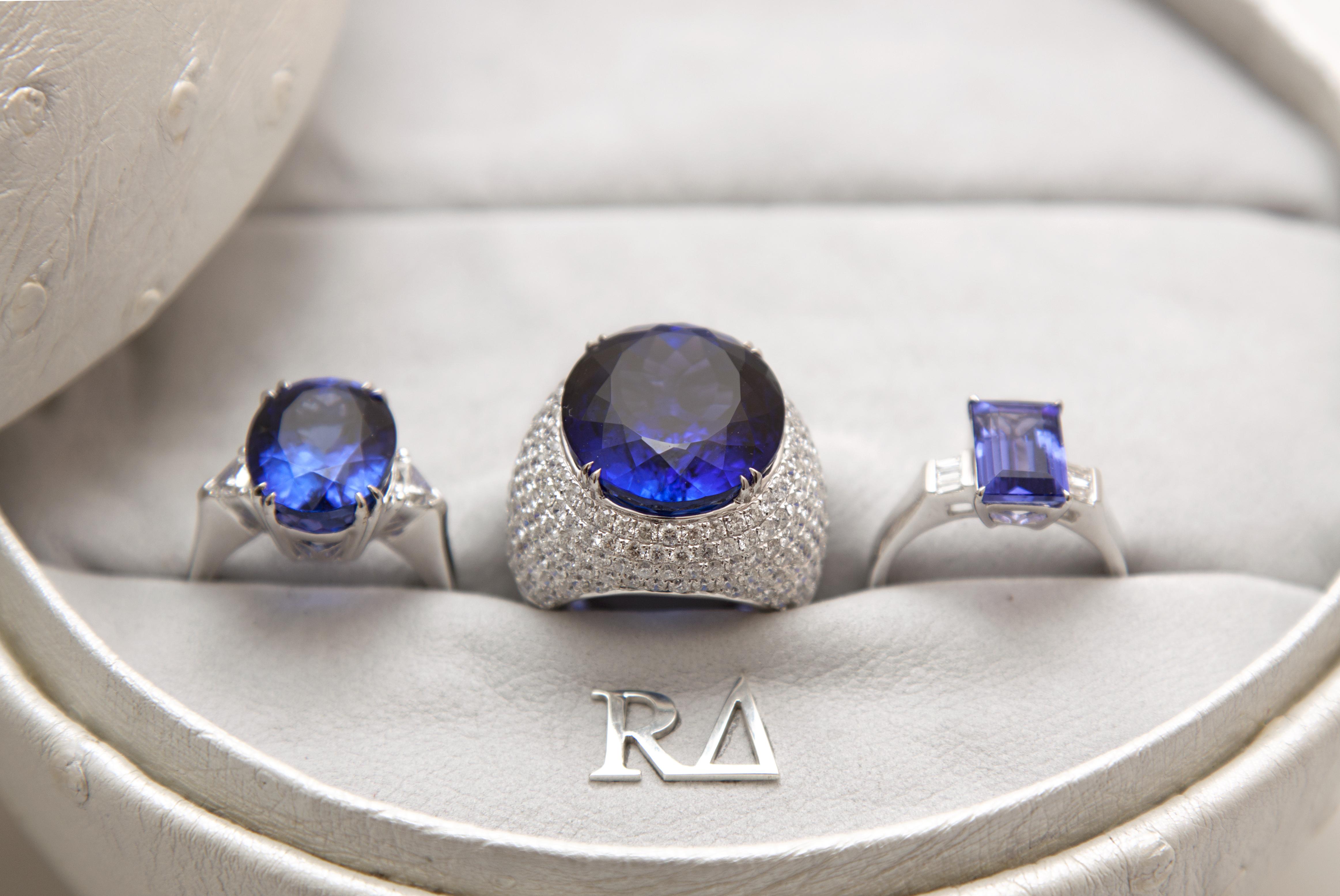 Šperky s tanzanitem z kolekce Richard Collection