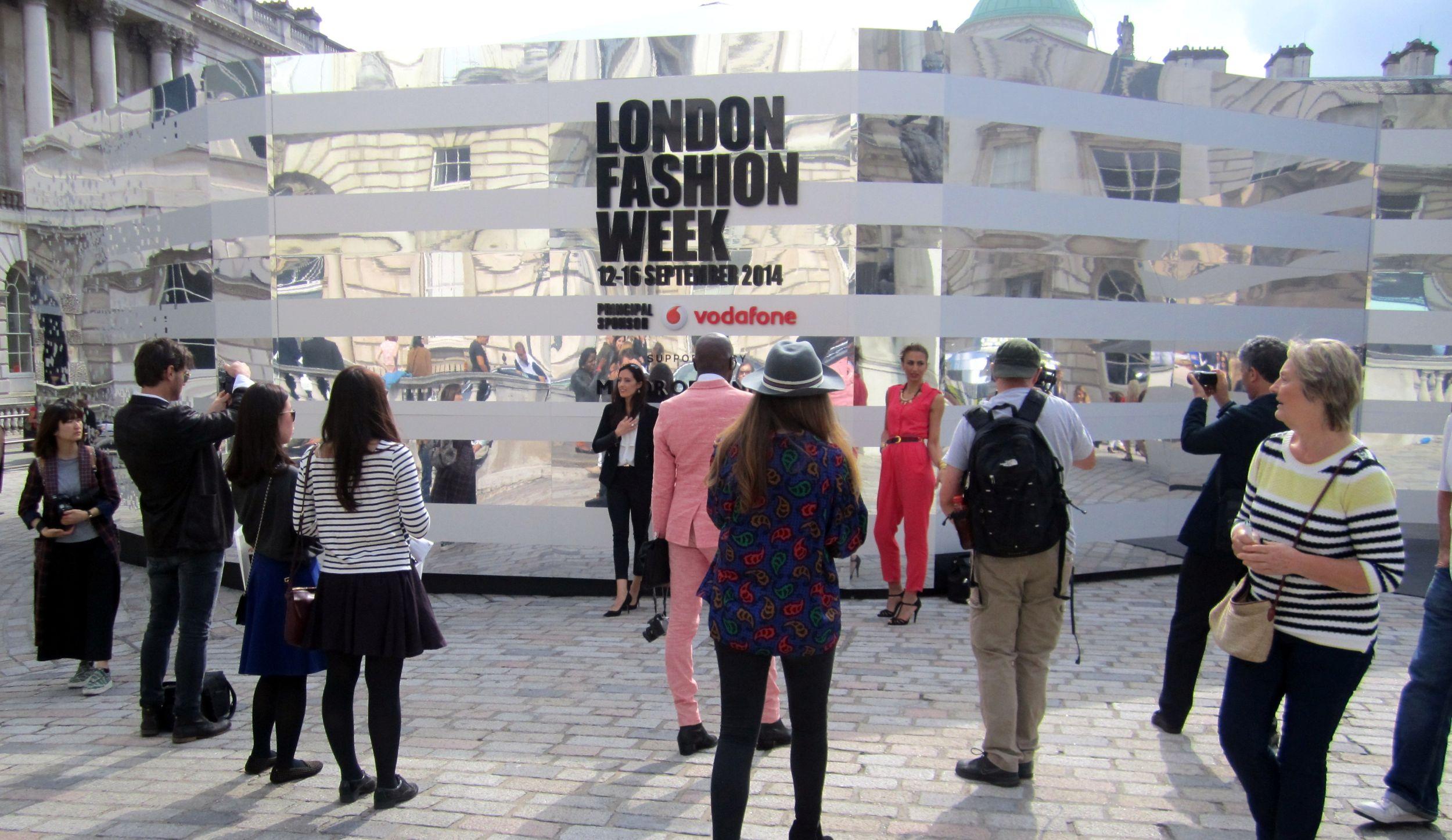 London fashion week: Den třetí