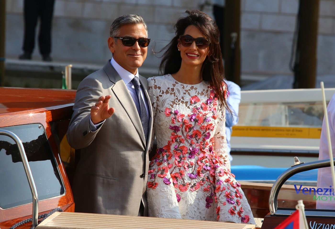 Introducing Mr & Mrs Clooney