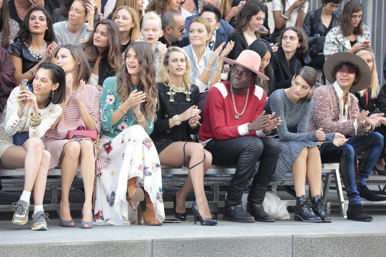 SS 2015 RTW - Celebrities pictures by Anne Combaz - Kiko Mizuhara - Ana Girardot - Elisa Sednaoui - Alice Dellal - Theophilus London - Alma Jodorowsky - G Dragon