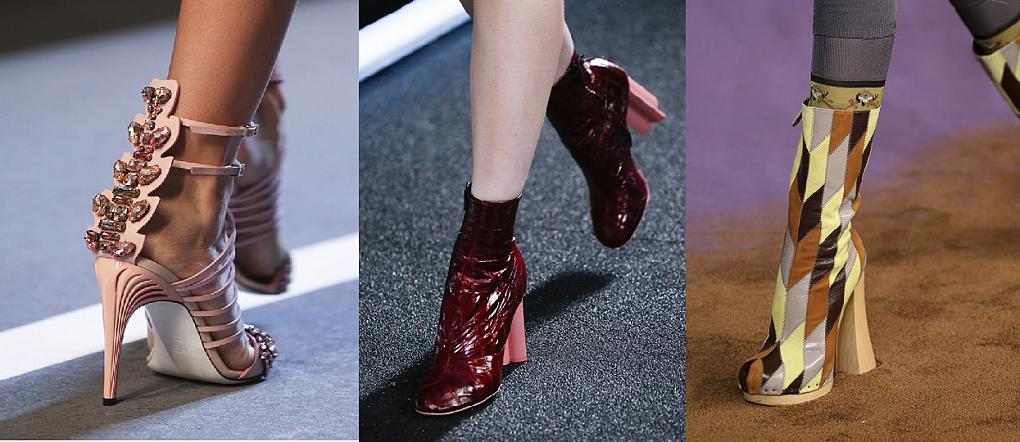 S/S 2015: Průřez obuví