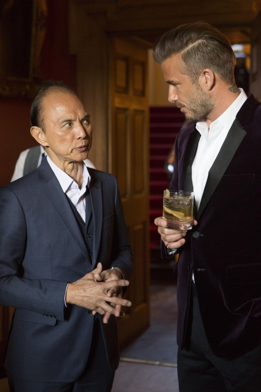 Jimmy Choo a David Beckham