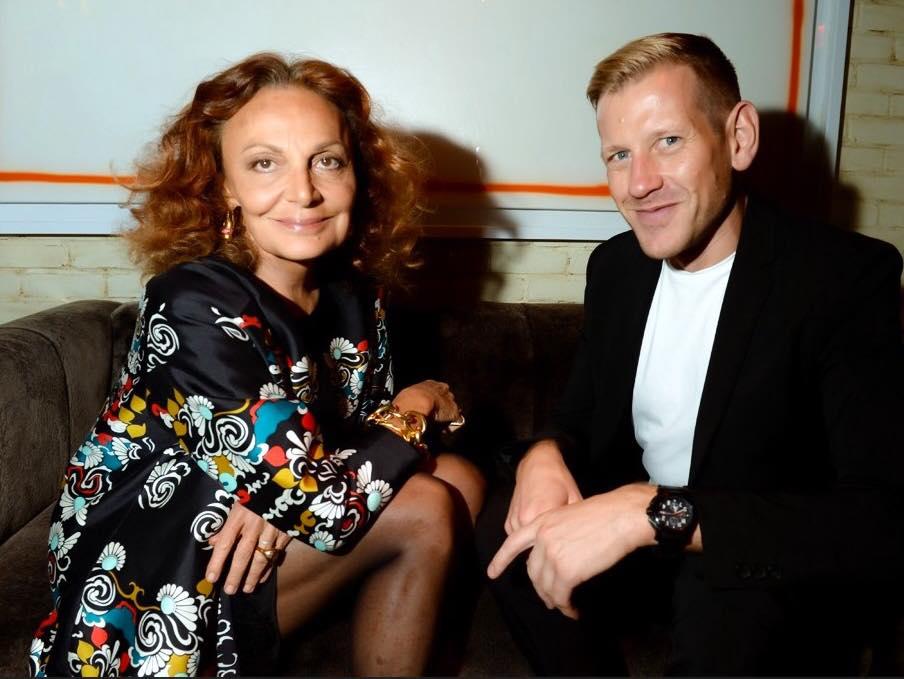 Diane von Furstenberg a Paul Andrew