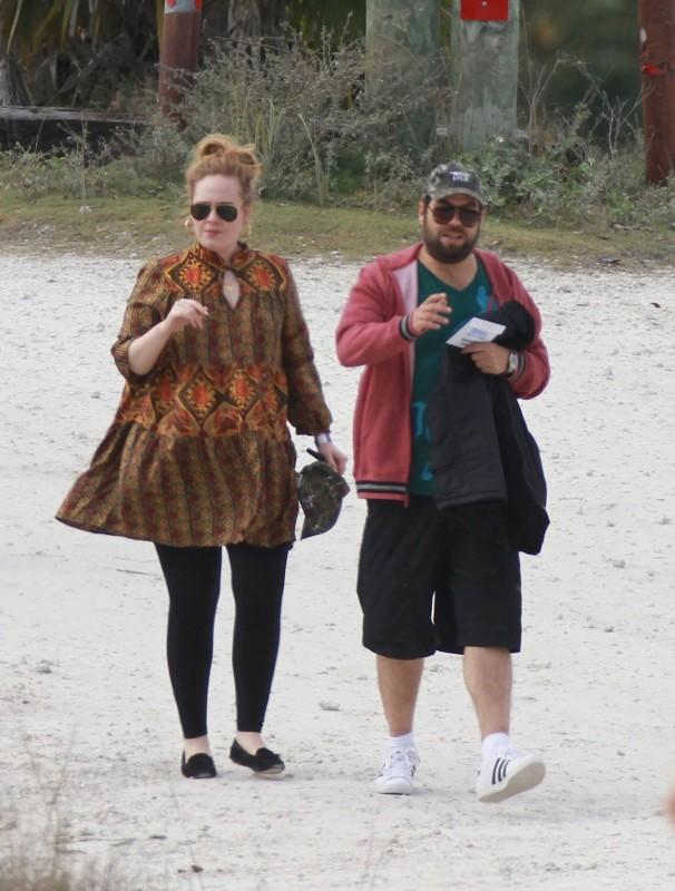 Adele s partnerem
