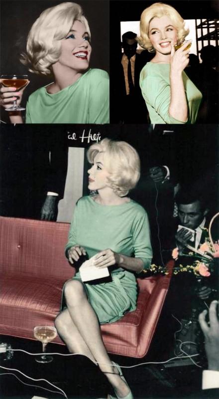 Marylin Monroe v šatech Emilio Pucci