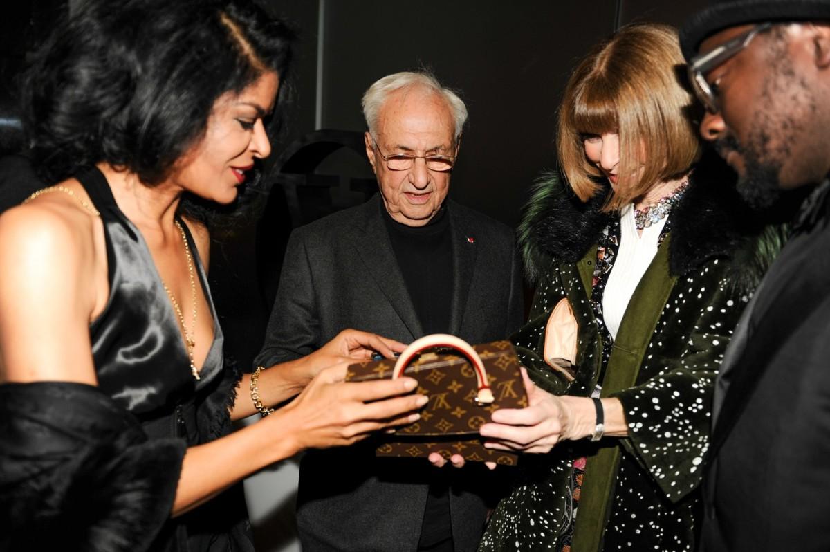 Elsaine Von Blanckenhagen, Frank Gehry, Anna Wintour, Will.i.am