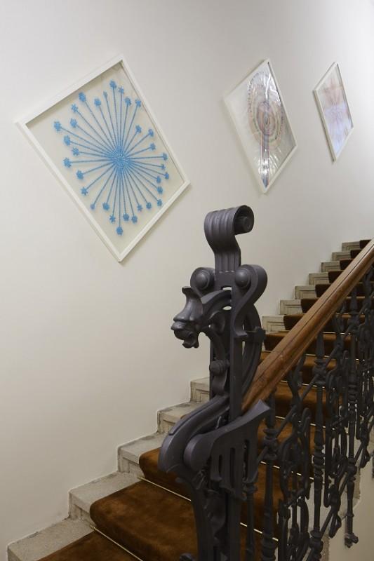 LV_Prague_Staircase and Lionel Esteve artworks