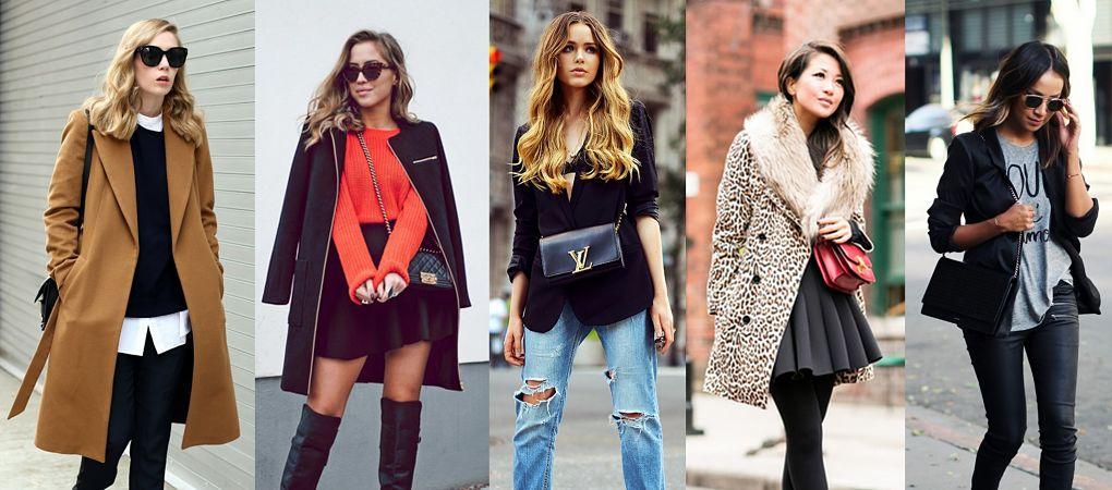 Podzimní outfity blogerek