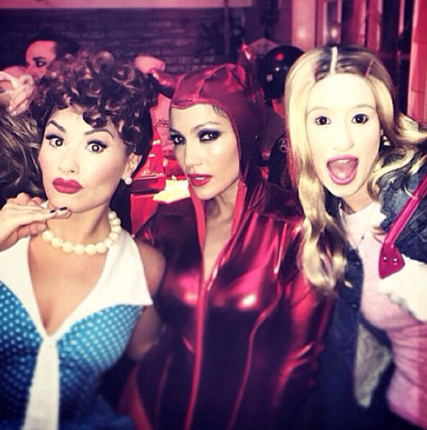 Demi Lovato, Jennifer Lopez, Iggy Azalea