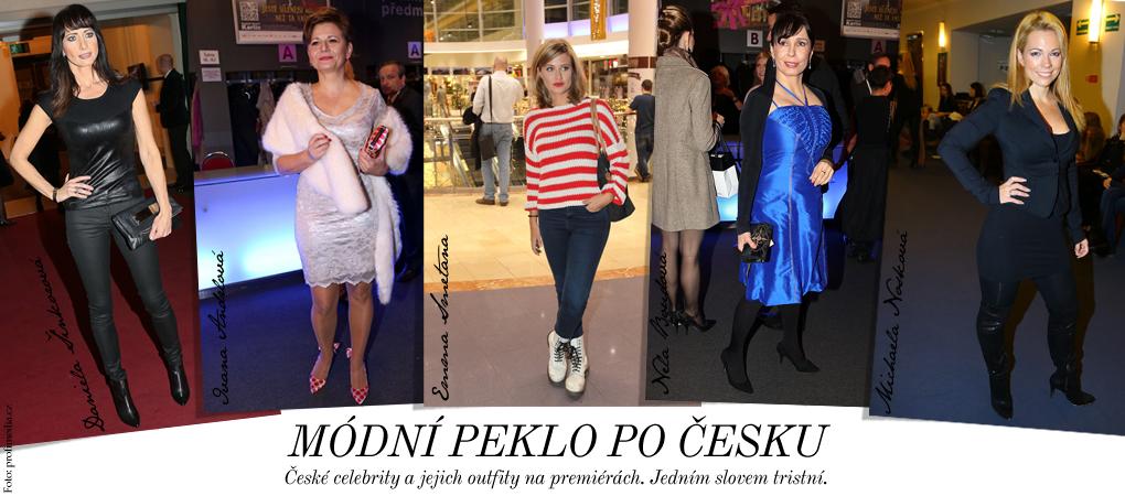 České celebrity umí šlápnout vedle