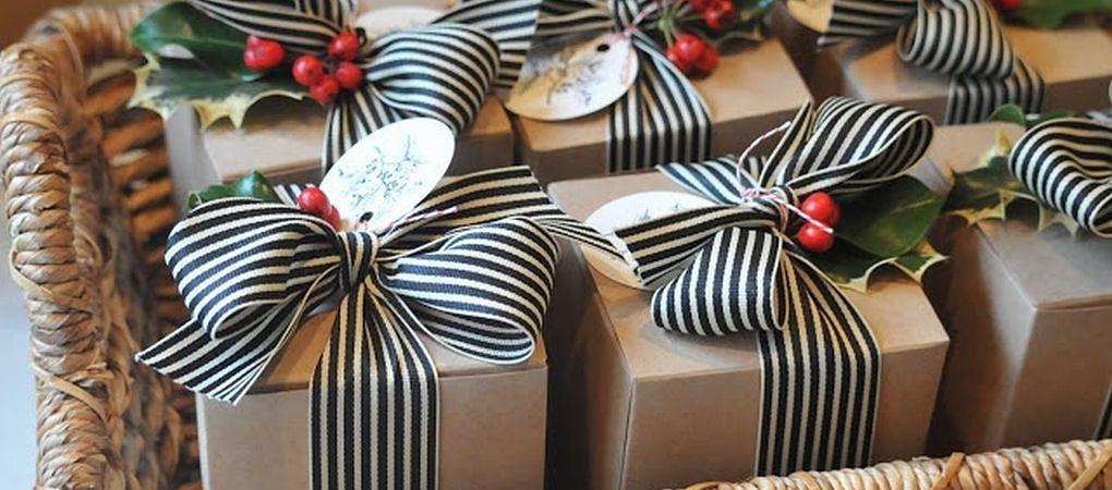 Jak efektně zabalit vánoční dárky