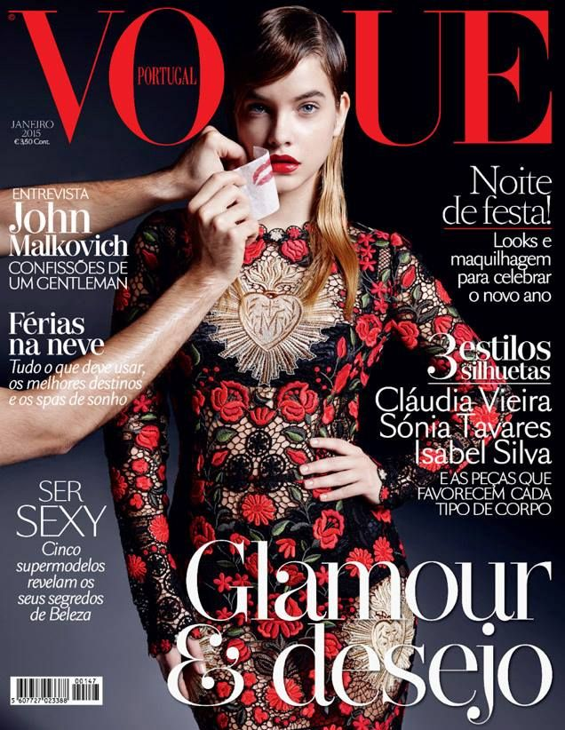 Vogue Portugal January 2015 Barbara Palvin
