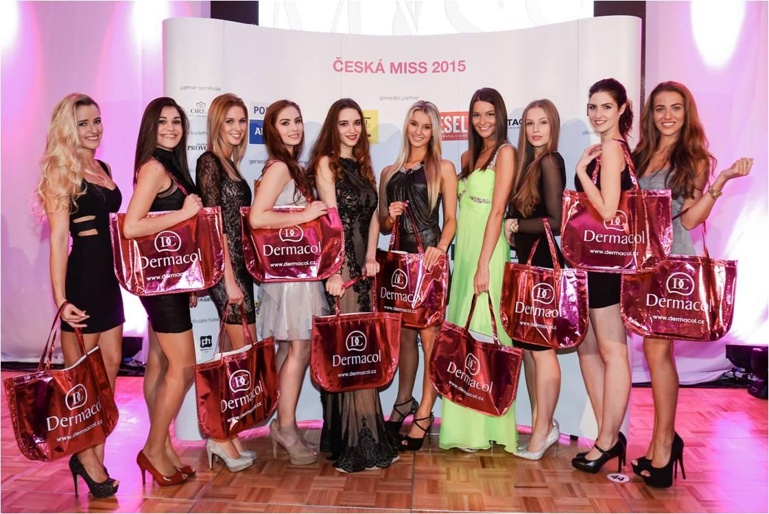 Česká kosmetická značka Dermacol je oficiální kosmetikou 11. ročníku České Miss 2015
