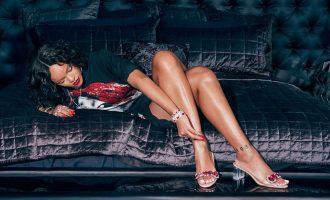 Manolo Blahnik a Rihanna: Do třetice všeho dobrého