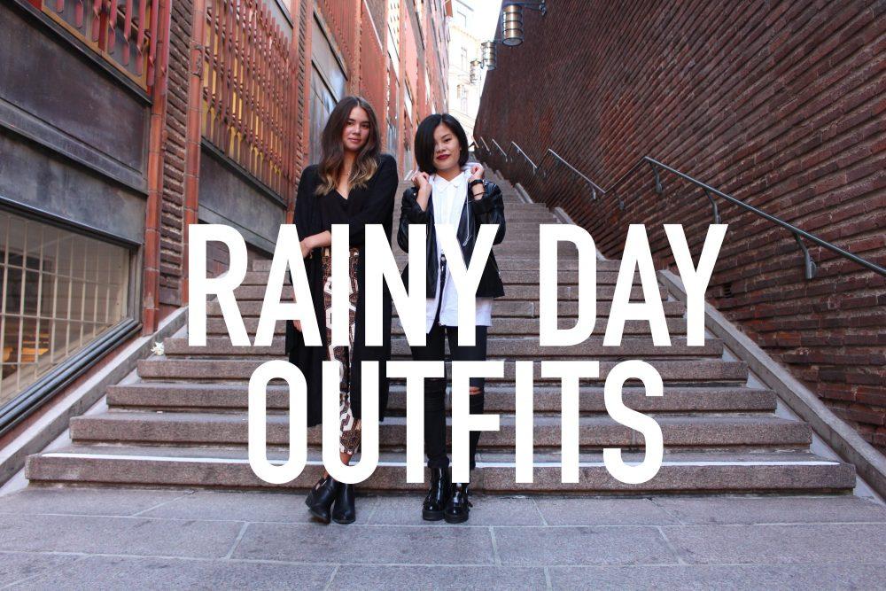 Inspirace: Outfity mezi kapkami deště
