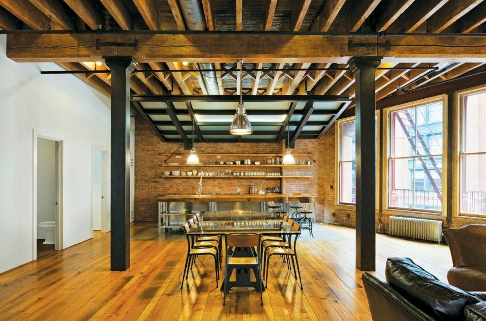 Industri ln styl se st v obl ben i u n s - Medium sized loft houses ...