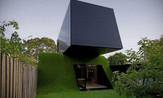 Originálně řešený dům s maximálním přístupem slunečního světla