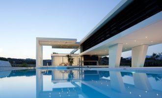 Vodní dům pro milovníka jachet v Aténách