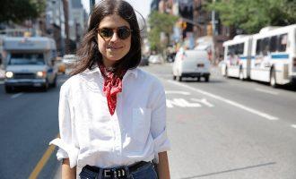 Jak nově a stylově nosit šátek?