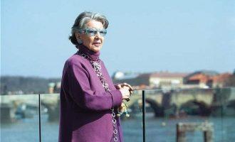 Meda Mládková oslavila své 98. narozeniny