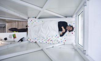 Nejužší dům na světě nabízí překvapivý komfort