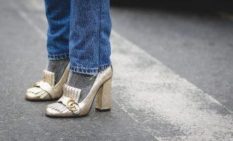 Mokasíny a ponožky jsou na podzim ideální dvojka