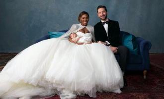 Pohádková svatba Sereny Williams