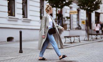 Kostkované kabáty: Jak nosit jeden z top kousků sezóny?