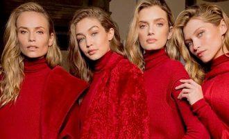 Červená jako barva roku: Noste ji na tvářích, očích i rtech