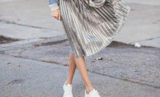Midi sukně: Jak nosit aktuální trendy kousek?