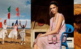 Jarní kampaně 2018: Chloé, Miu Miu a Dolce & Gabbana