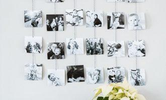 Jak na stylové DIY fotostěny?