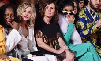 Celebrity v prvních řadách na New York Fashion Week