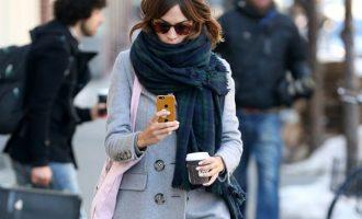 Jak nosit šálu: Inspirujte se stylovými celebritami