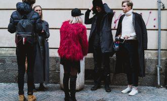 Street style a backstage z posledního přehlídkového dne pražského fashion weeku