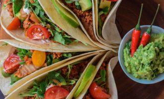 Gourmet tip: Jak připravit vegetariánské a veganské tacos?
