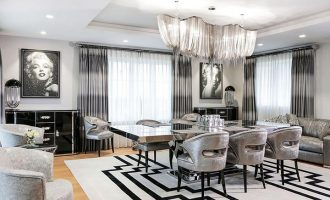 Glamour styl: Interiér s nádechem luxusu