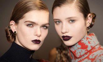 Jak nosit tmavou rtěnku?