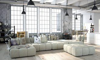 Interiérový design: Industriální styl