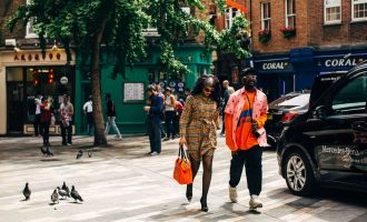 Street style report z London Fashion Week Men's