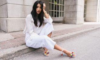 Outfit inspo: V bílé od hlavy až k patě