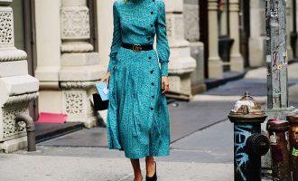 Midi šaty: Zamilujte si žhavý trend