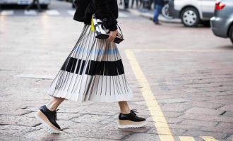 Trend: Jak nosit plisované sukně?